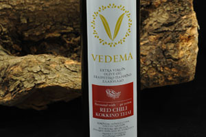 Red Chili Flavoured Vedema Extra Virgin Olive Oil